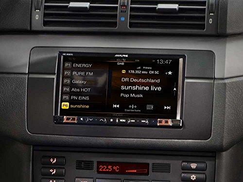 Alpine DAB Autoradio für BMW 3er E46 - 5