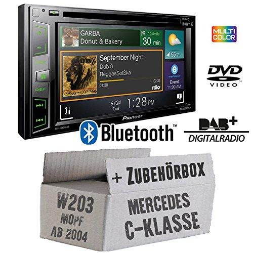 DAB Autoradio für Mercedes C-Klasse W203/209 2004 - 2007
