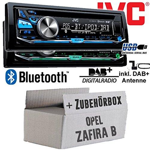 JVC KD-DB97BT DAB Autoradio für Opel Zafira B