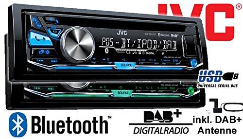 JVC KD-DB97BT DAB Autoradio für Opel Zafira B - 3