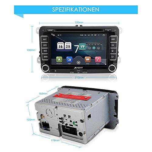 DAB Autoradio für VW und Seat Modelle ab Bj 2003-2013 - 6