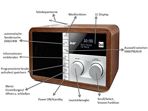 Dual DAB 32 DAB Digitalradio - 6