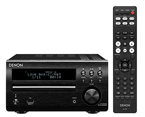 Denon RCDM40DAB All-In-One CD-Receiver inkl. DAB/DAB+, Schwarz