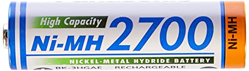 Panasonic High Capacity AA Mignon NI-MH 2700 Akku wiederaufladbar - 3
