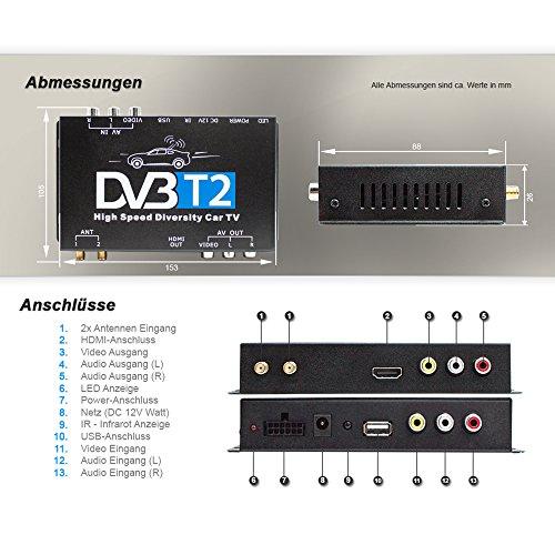 XOMAX DVB-T2 Receiver - 5