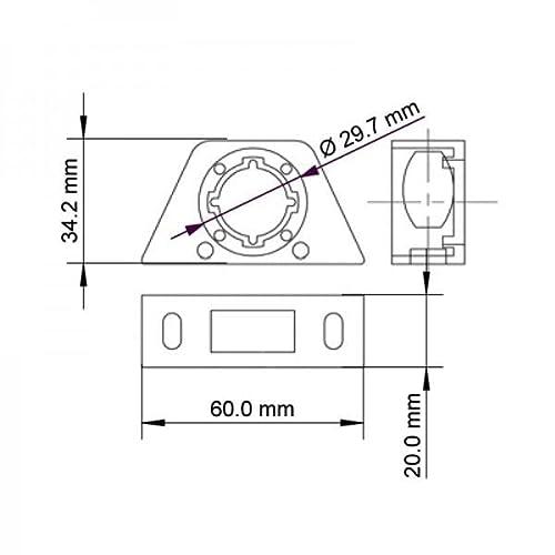 SINUSTEC USB EINBAU/UNTERBAUBUCHSE - 3