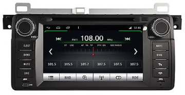 AUTORADIO DVD/GPS/NAVI/BLUETOOTH/DAB+/ANDROID 4.4.4 Player BMW 3 SERIE E46 M052