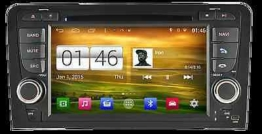 AUTORADIO DVD/GPS/NAVI/BT/DAB+/RADIO/ANDROID 4.4.4 Player AUDI A3 03-12 M049