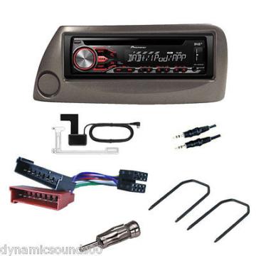 Ford KA 1997> Grau Autoradio Einbau-set + Pioneer DEH-4800DAB DAB+ Stereo