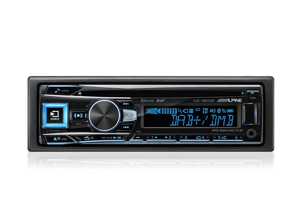 Alpine CDE-196 DAB Autoradio-digitalradio-test.info